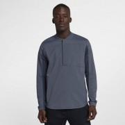 Nike Shield Herren-Golfjacke mit Halbreißverschluss - Blau