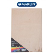 Marlin Kids Precut book covers A4 Brown Kraft