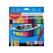 "Creioane colorate Maped ""Color`Peps"", 48 culori"
