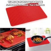 Tapis de cuisson en silicone anti-adhérent