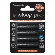 Acumulator Reincarcabil Panasonic Eneloop Pro, AA NiMH 2500mAh/1.2V, 4buc/blister