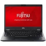 Лаптоп Fujitsu Lifebook E449, 14 инча FHD (1920x1080) Anti-glare, Intel Core i7-8550U, 8 GB DDR4, 256GB NVMe SSD, Черен, S26391-K483-V100_256_I7