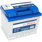 Bosch S4 12V 60Ah 540A Bal+ autó akkumulátor