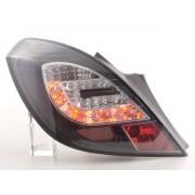 FK-Automotive fanali posteriori LED Opel Corsa D 3 porte anno di costr. 06-10, nero