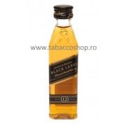 Johnnie Walker Black Label 12 ani 50ml