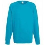 Lightweight Raglan Sweat Azure Blue