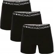 Muchachomalo Boxershorts 3er-Pack Schwarz 185 - Schwarz XL