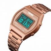 SKMEI Men's Fashion Casual Electronic Watches Luxury Southeast Asia Explosion-proof Waterproof Multifunction Sports Wris
