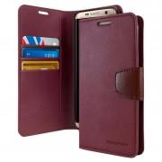 Capa Tipo Carteira Mercury Goospery Sonata Diary per Samsung Galaxy S8 - Vinho Vermelho