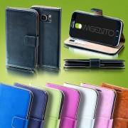 Wigento Bookcover plånbok ficka för smartphones
