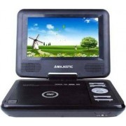 "Majestic Dvx166usb Lettore Dvd Portatile Display 7"" Usb / Sd Con Telecomando Colore Nero - 100166 Dvx-166 Usb / Sd"
