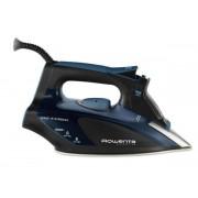 Fier de calcat Rowenta Focus DW5127F1, 2600 W, talpa Microsteam 400 Laser, jet de abur 190g/min, rezervor apa 0.3 l (Negru/Albastru)