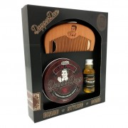 Set cadou Dapper Dan Hairy Man Combo Gift Set Matt Clay