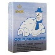 Preservativos Amor Cold Moments (3 Un)