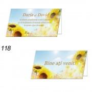 Plicuri Nunta Floarea Soarelui