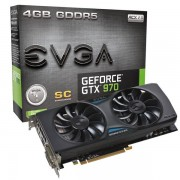 EVGA GeForce GTX 970 4GB GDDR5. Fri Frakt!