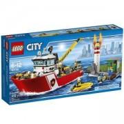 Конструктор ЛЕГО СИТИ-ПОЖАРНИКАРСКА ЛОДКА, LEGO City Fire Boat, 60109