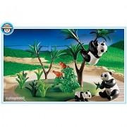 Playmobil 3241 Le Zoo - Famille De Pandas