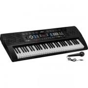 Orga electronica 61 de clape cu display digital si MP3 de pe stick-ul USB Miles MLS-6639