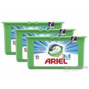 Gel capsule Ariel Touch of Lenor 3in1, 3x35 bucati