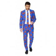 Superman Business suit met Superman print