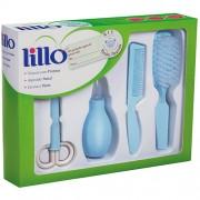 Kit Lillo Recém Nascido Higiene Azul