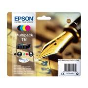 Epson Pack ahorro cartuchos de tinta original EPSON 16, Bolígrafo y crucigrama, C13T16264012, T1626
