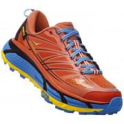 Hoka Mafate Speed 2 - scarpe trail running - uomo - Orange/Light Blue