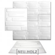3D Панел за стенна декорация [neu.haus]® , с мотиви, 50 x 50 cm, 6m²
