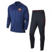 A.S. Rom Dri-FIT Squad Fußball-Trainingsanzug für Herren - Blau