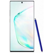 "Telefon Mobil Samsung Galaxy Note 10 Plus, Procesor Exynos 9825 Octa-core, Dynamic AMOLED Capacitive touchscreen 6.8"", 12GB RAM, 512GB Flash, Camera Tripla 16+12+12MP, 4G, Dual Sim, Wi-Fi, Android (Argintiu)"
