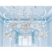 amscan Snowflake Cutouts Value Pack, 30 Ct. Christmas Decoration
