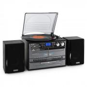 TC-386 Stereoanlage USB MP3 Kassette CD Plattenspieler Encoder