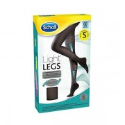 Scholl Light Legs Black 60 DEN S kompressziós harisnya 1db