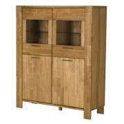 Bighome.cz Bighome - Komoda RIVA 144x121 cm, přírodní