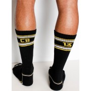 CellBlock 13 Renegade Crew Socks Black/Yellow