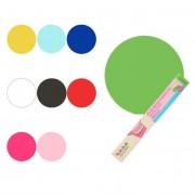 Cake Supplies Disco de fondant extendido de colores de 36 cm - FunCakes - Color Fucsia