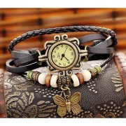 i DIVAS Women Leather Vintage BRACELET WATCH Latest Fashion WOMEN WATCHES