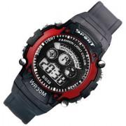 NG Mens Watch Quartz Digital Watch Men Sports Watches LED Digital Watch Red