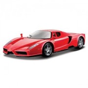 Метална количка, Bburago Ferrari - модел на кола 1:24 - Enzo, 093908