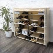 Pantofar panza pentru 36 perechi pantofi-bej
