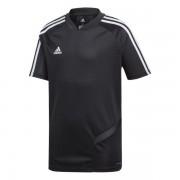 Adidas junior voetbalshirt - Zwart - Size: 116