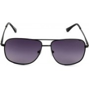 Image Retro Square Sunglasses(Grey, Blue)