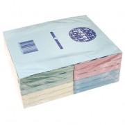 Notes autoadeziv (12 seturi), 125 x 75mm, 100 file/set, diferite culori pastel, GLOBAL NOTES