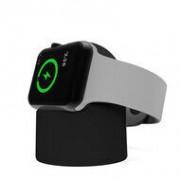 Apple Watch Series 1/2/3 oplader - Zwart