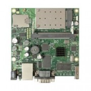 Рутер MikroTik RB411UAHR, мобилен 3G, 2.4GHz, Wireless G, 1x LAN 10/100, 1x RS232, 1x miniSIM, 1x USB, Passive PoE, 1x вградена антена