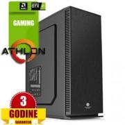 A-Comp Eagle, AMD Ryzen 5 2400G/8GB/SSD 120GB/HDD 2TB/GTX1050-Ti/DVD