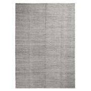 Hay Tapis Moiré Kelim Large / 200 x 300 cm - Tissé main - Hay blanc,gris en tissu