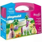 Комплект Плеймобил 70107 Playmobil - Преносимо куфарче Принцеса с еднорог, 2900519