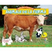 BABY LOONEY TUNES. CARTEA MEA CU PUZZLE-URI, ANIMALE DE LA FERMA - CORINT (JUN1038)